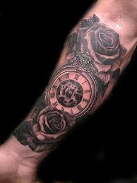 rose pocket watch by gabriel londis tattoonow