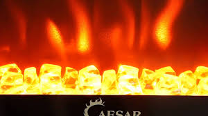 caesar electric fireplace product showcase mini chfp 001 youtube