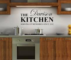 Kitchen Cabinet Decals Wall Decals Kitchen Design The Contribution Of Kitchen Decals