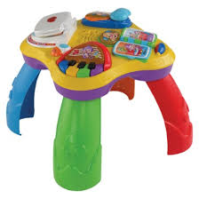 fisher price around the town learning table cool electronic play toy used it for a few months as a floor toy
