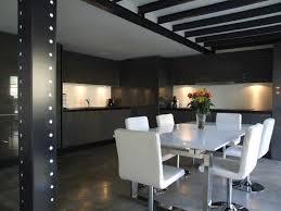 salon et cuisine moderne bar de salon design bar separation cuisine salon mobilier design