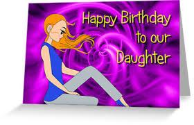 teenage daughter happy birthday card