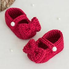 Ruby Red Long Brick Stitch Ruby Red Mary Jane Booties Allfreecrochet Com