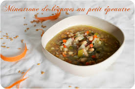 cuisiner le petit eautre minestrone de légumes au petit épeautre une soupe complète pour un