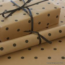 brown gift wrapping paper kraft patterned brown gift wrapping paper black spots