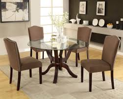 dining perfect elegant dining room with round table and kitchen