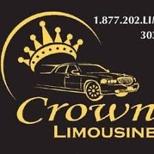 Crown Business Cards Crown Denver Limo Airport Shuttles 7395 S Peoria St Englewood