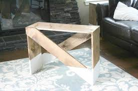 Build Your Own End Table Plans by Paint Dipped Diy End Tables Making It In The Mountains