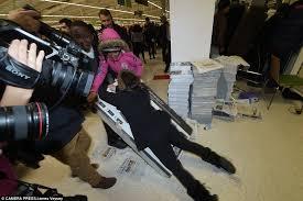uk black friday brawls and arrests on u0027gray thursday u0027 overshadow quiet black