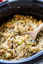 cooker sausage cornbread dressing spicy southern kitchen