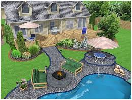 patio ideas backyard affordable best landscape designs image on