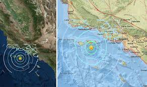 earthquake update california earthquake today live latest update fault line maps in