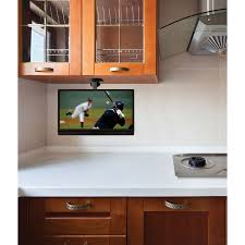 kitchen televisions under cabinet stunning coffee table under cabinet tv for kitchen best pics ideas