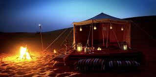 desert tent beyond the dunes