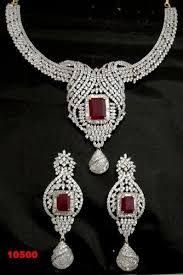 diamond sets images necklace set american diamond necklace set 100 export