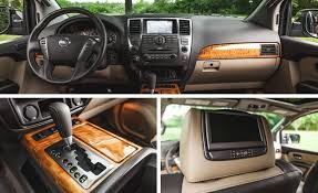 2017 nissan armada platinum interior 2015 nissan armada review car and driver
