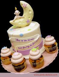 moon cake topper crescent moon cupcake topper cake custom baby shower cakes