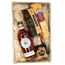 whiskey gift basket wayne gretzky gift for him