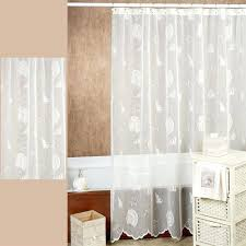 Country Bathroom Shower Curtains Bath Shower Curtains Seashells Lace Shower Curtain X Country Bath