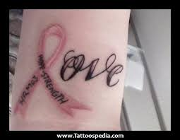 breast cancer tattoos quotes