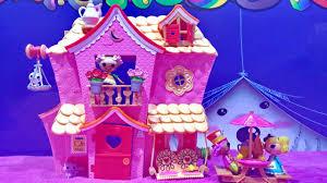 mini lalaloopsy sew sweet house playhouse with mini lalaloopsy