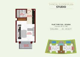 floor plans ritz residence al furjan by danube properties