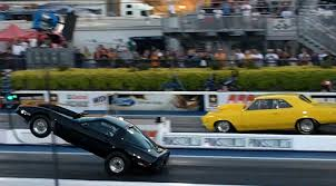 race to win corvette c4 corvette drag race mondays c4 corvette sacrifices bumper for