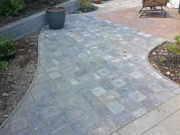Concrete Patio Vs Pavers by Concrete Slabs Pavers Thesouvlakihouse Com