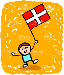 kid with denmark flag cartoon stock vector art 118316898 istock