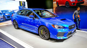 subaru sti 2018 subaru wrx sti review top speed