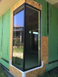 enerlux windows doors outside fiberglass corner window fiberglass corner window construction