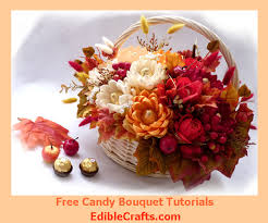 Fall Table Decor Fall Table Decorations U2013 Diy Candy Bouquet