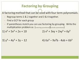 6 factoring