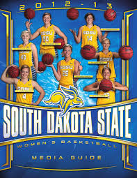 2012 13 south dakota state women u0027s basketball media guide by south