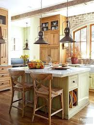 distressed island kitchen distressed white wood kitchen table antique island diy