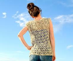 crochet broomstick lace broomstick lace crochet top allfreecrochet