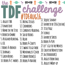 Challenge Instagram Tdf S August Instagram Challenge The Discriminating Fangirl