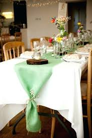 grey table runner wedding set of 8 colored burlap table runners mint wedding decor gray table