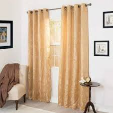 Jacquard Curtain Grommet Floral Curtains U0026 Drapes Window Treatments The