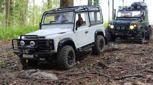 scale offroad adventures rock crawling rc land rover defender 90