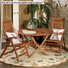 Wood Outdoor Chairs Outdoor Furniture Touch Of Class