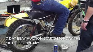 motocross bikes for sale scotland 1971 ducati 450 r t dirt bike youtube