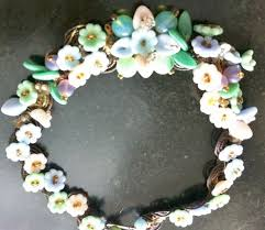 glass flower necklace images 44 best vintage venetian czech glass flower jewelry and beads jpg