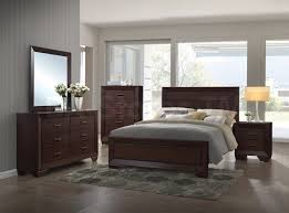981 95 fenbrook panel bedroom set cocoa 4 pc bedroom
