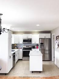 White Kitchen Cabinets Before And After I Survived My Diy Kitchen Renovation Before U0026 Afters The