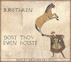 Bayeux Tapestry Meme - the 20 funniest bayeux tapestry memes smosh