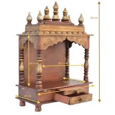 amazon com wooden temple home temple pooja mandir pooja mandap amazon com wooden temple home temple pooja mandir pooja mandap temple for home jord714 home kitchen