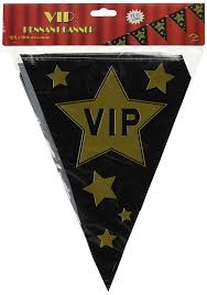 amazon com vip pennant banner party accessory 1 count 1 pkg