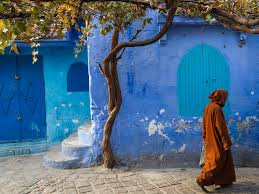 Blue Shades The City Of Chefchaouen In Morocco Is Painted Blue Business Insider