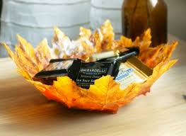 thanksgiving crafts create autumn leaf bowls huffpost